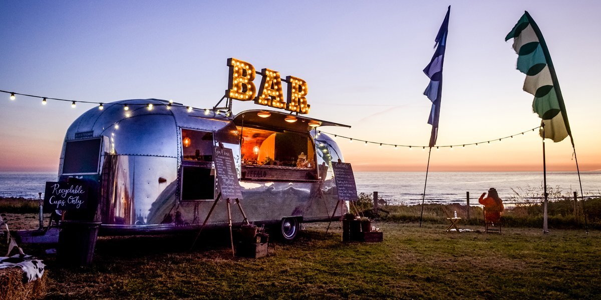 The Buffalo Vintage Airstream Wedding Bar