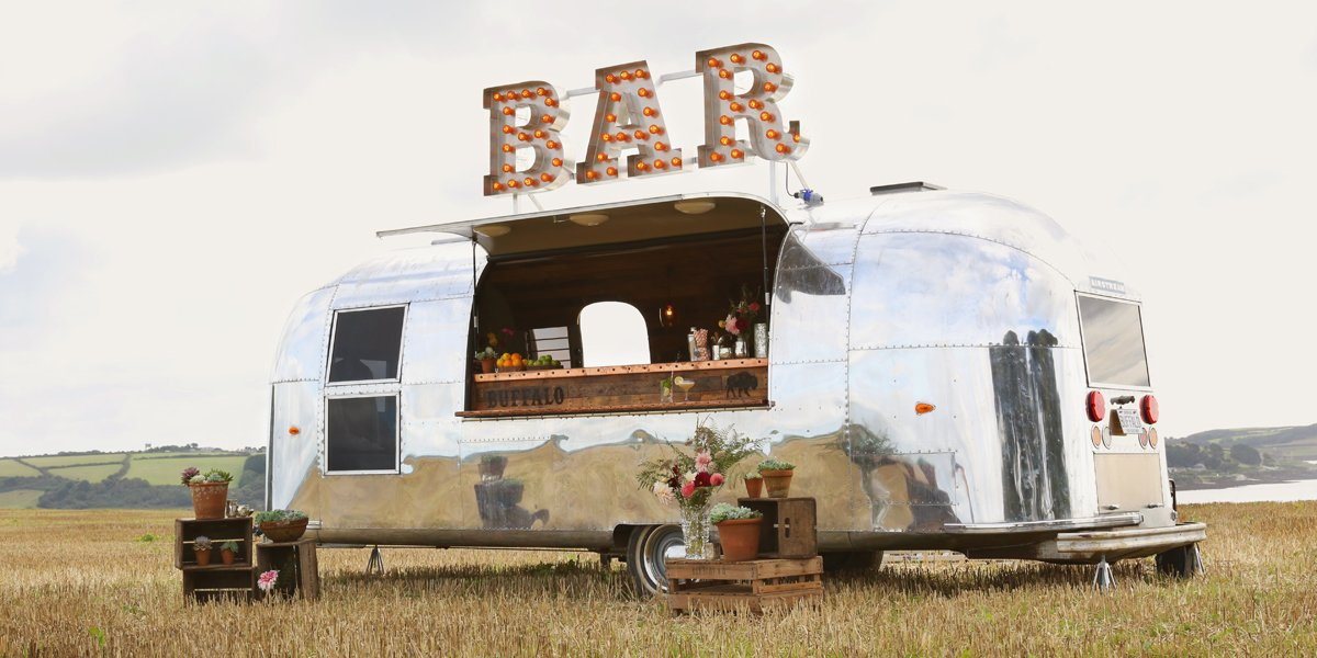 Anniversary Party Bar The Buffalo Airstream Mobile Bar