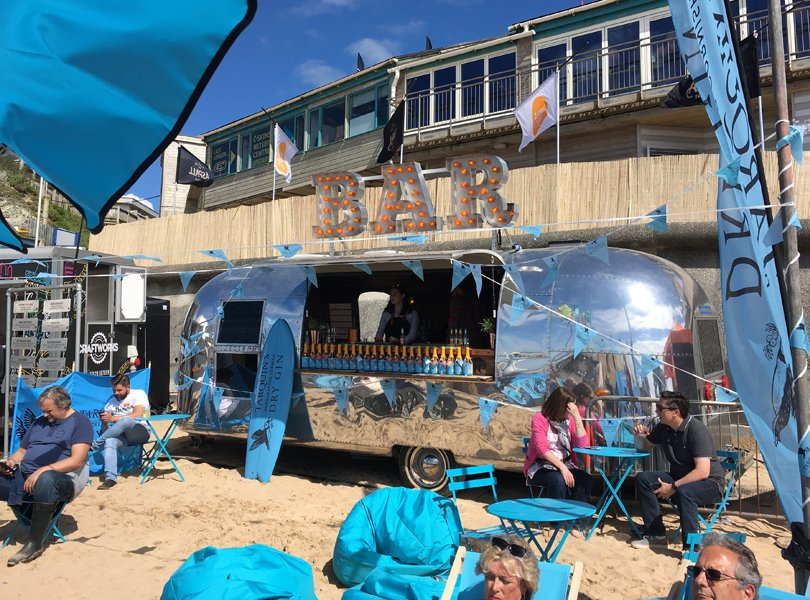Airstream Bar Branding